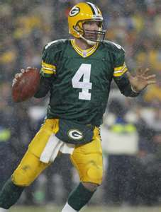 On NFL Network's topo, início 10 Quarterbacks, what number was Brett Favre?