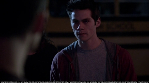 What did Stiles call Scott in this scene?