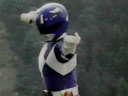 What did Billy say in order to morph into the Blue Ranger using his Ninja powers?