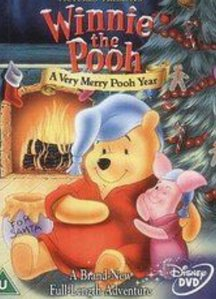"""Which one of Christopher Robin's friends did *not* appear in """"A Very Merry Pooh Year""""?"""