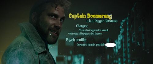 Captain Boomerang : Possible ?