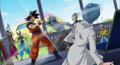 Why did Trunks attack goku after coming back to the past?