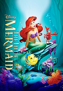 How many copies did the Blu-ray Diamond Edition of The Little Mermaid sell in the first week?