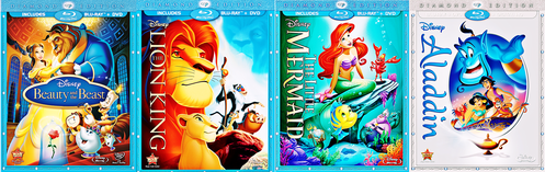 Which of these Diamond Edition Blu-rays sold the most on the first week on sale?