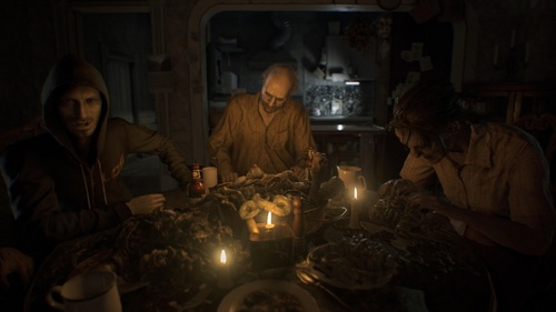 What's the name of the family in Resident Evil 7?