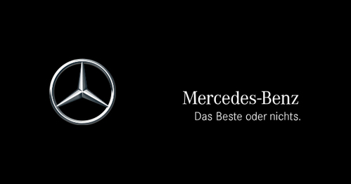 "When was the Mercedes-Benz slogan ""Das Beste oder nichts"" (""The best or nothing"") officially launched?"