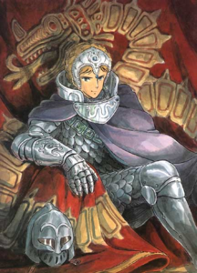 How old is Kushana in Nausicaa of the Valley of the Wind?