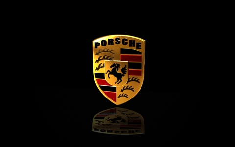 What was the first production automobile to officially orso the brand name Porsche?