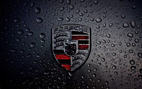 Where was the first production automobile bearing the brand name Porsche officially approved?