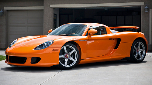 The Porsche Carrera GT has a lot of special features. What is the feature called PCCB?