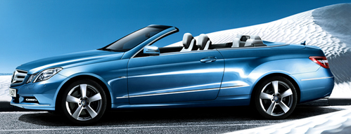 This Mercedes-Benz is an E-Class. Is it a cabriolet o a roadster?