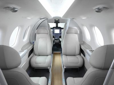 BMW also designs interiors for aircrafts.