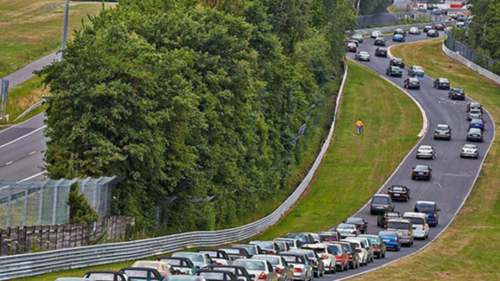 The largest ever parade of Mercedes-Benz cars took place in Nürburg, Rheinland-Pfalz, Germany on the 5th of July 2014. How many cars took part in the event?