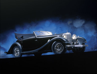 This is one of the greatest Mercedes-Benz cars of all-time. What is the name of the model?