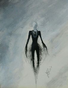 How many tentacles does SlenderMan have?