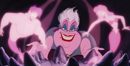 Which live-action Disney film starring Hayley Mills featured a character named Ursula?