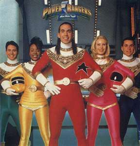 When the Zeo Power Rangers were Tommy, Katherine, Tanya, Adam, and Rocky, what was the morphing sequence?