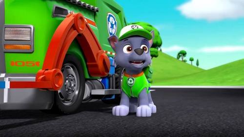 What is Rocky's membership number of the PAW Patrol?