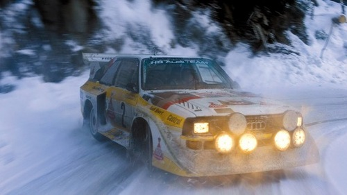 The Audi Quattro rally car was revolutionary for its 4-wheel drive system. In what tahun did Audi first win the World Rally Championship (WRC) with the Quattro?