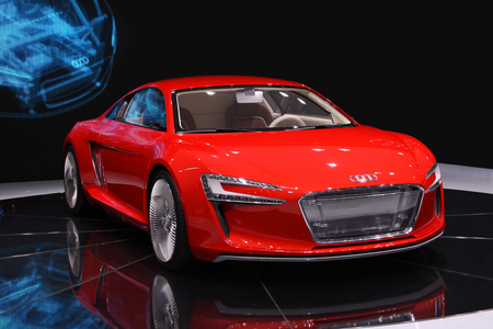 What is the name of this electric Audi R8?
