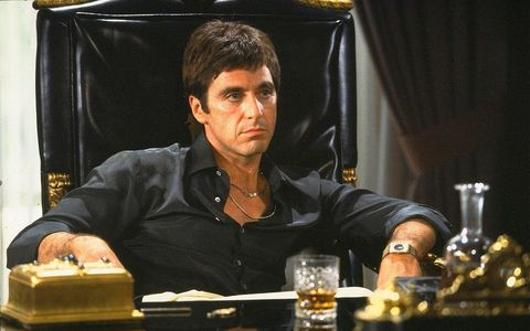 "Which Porsche model did Tony Montana buy in the 1983 film ""Scarface""?"