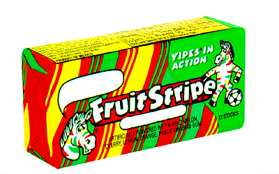 What was so cool about this gum?