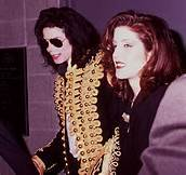 What city was this photograph of Michael and first wife, Lisa Marie Presley, taken