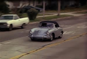 What is the license plate number on Lee's Porsche?