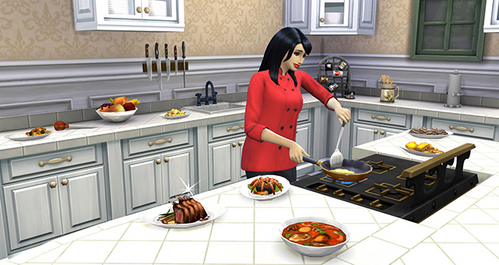 ToF: Gourmet Cooking was a skill never found in the vorige games.