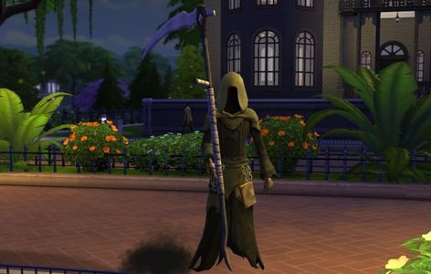 Which of these ways to die was NOT in the base game for Sims 4?