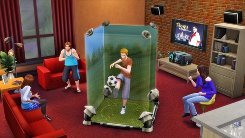 Which of these is NOT a video game Sims can play?