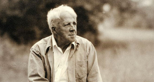 "Complete this Robert Frost's poem ""The sound of the _________"""