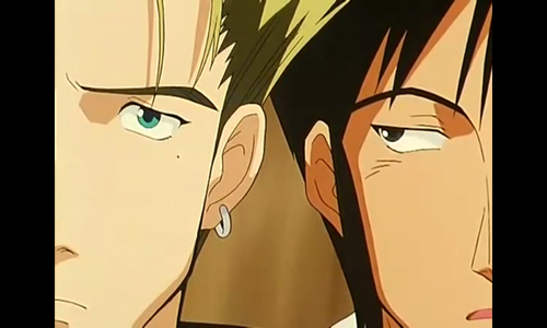 Who's next to Vash in this picture ?