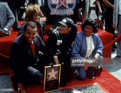 1990 Walk Of Fame Induction ceremony for Janet Jackson