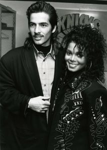 Rene Elizondo was Janet's first husband