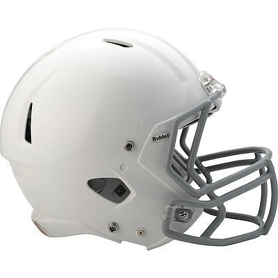 Which National Football League team has NEVER sported a logo on their helmet?
