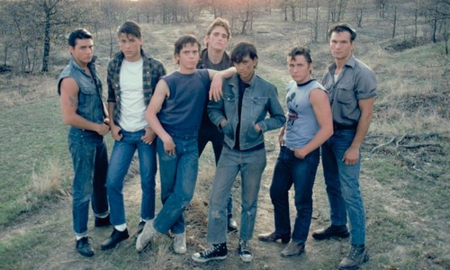 The 1983 film, The Outsiders, was based on