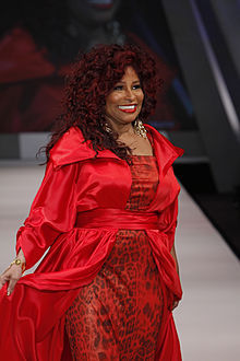 Chaka Khan provided the backing vocals on the