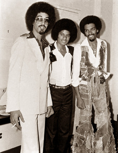 Who are these two brothers in the photograph with Michael