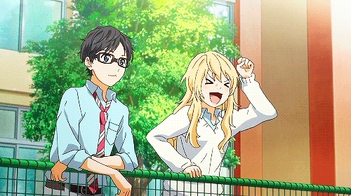 In what episode did Kousei Arima and Kaori Miyazono meet?