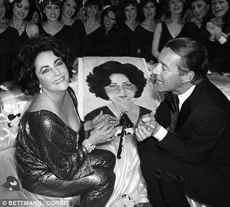Who is this man in the photograph with Elizabeth