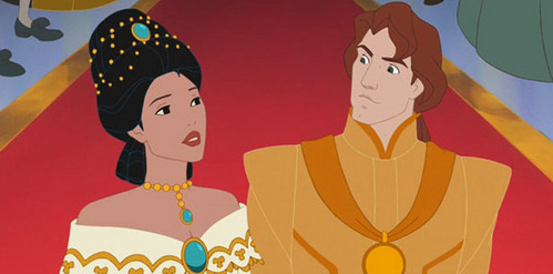 TRUE または FALSE: Pocahontas is married to John Rolfe.