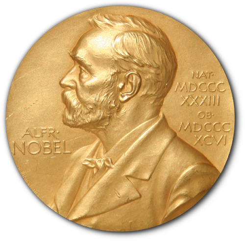 Which of the following Nobel Prizes is NOT awarded by a Swedish organisation?