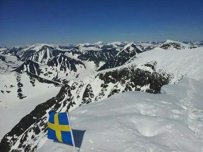 What is Sweden's highest mountain?