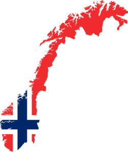 Which country shares the longest land border with Norway?