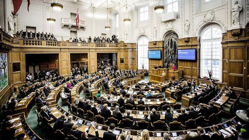 What is the name of the Danish parliament?