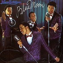 What año was the New Edition album, Under The Blue Moon, released