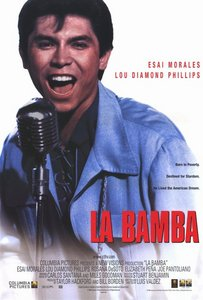 What 年 was the film biopic, La Bamba, released