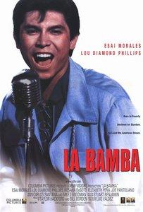 What tahun was the film biopic, La Bamba, released