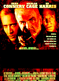 Year: 1996. Stars: Sean Connery, Nicolas Cage. Title?